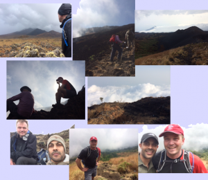 cameroon climb picture collage