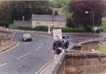 Oxford to Bakewell bridge