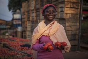 Saida Ibrahim, tomatoe farmer