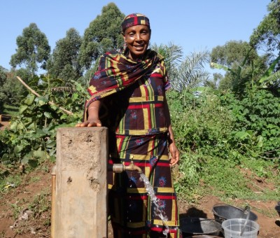 Meet Amina: Double your gift of clean water