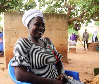 Growing women's businesses in rural Ghana
